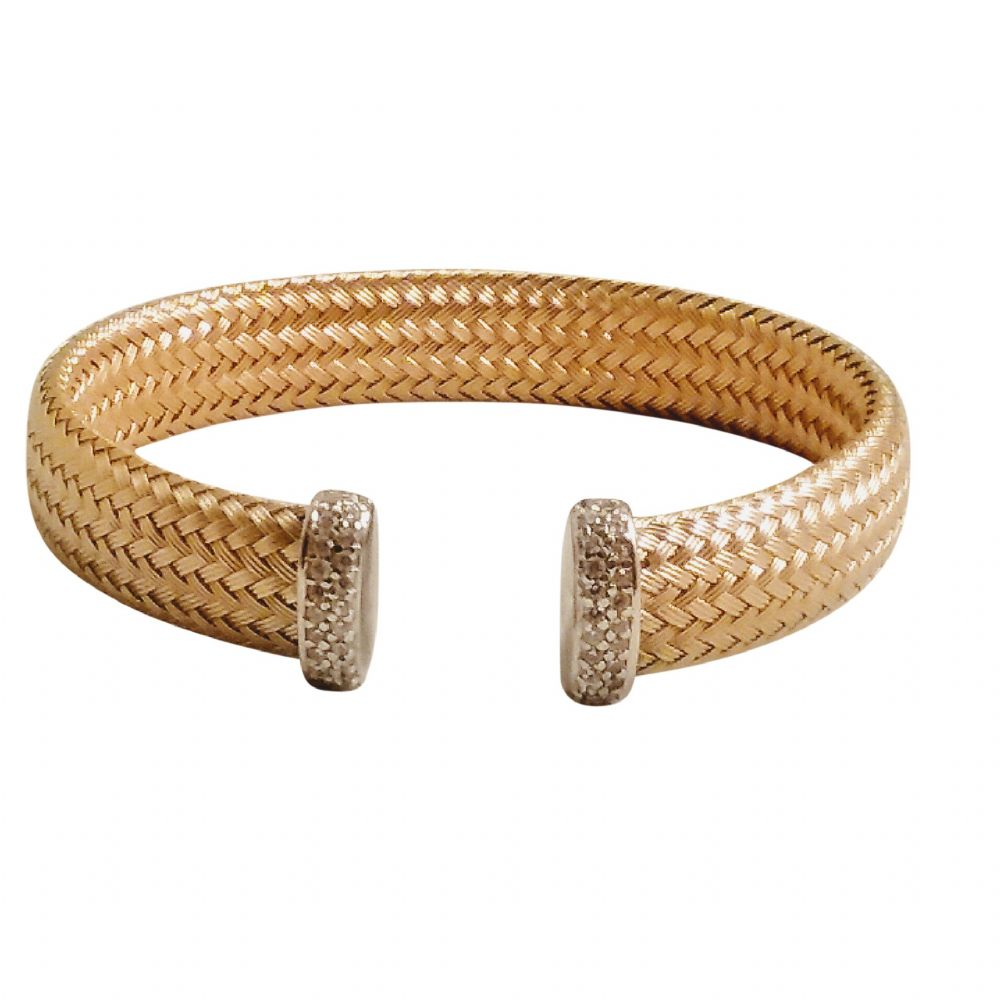 Becca Weave Silver Bangle
